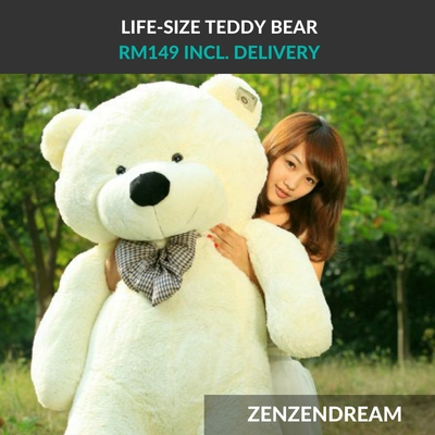 Big thumb teddy bear